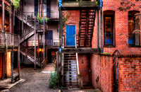 Back Alley - Old Town Sacramento, CA U.S.A.
