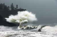 """Angry Seas"" - Cape Disappointment - Long Beach, WA USA"